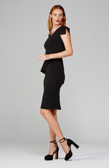 MARETHCOLLEEN Lock Dress Black