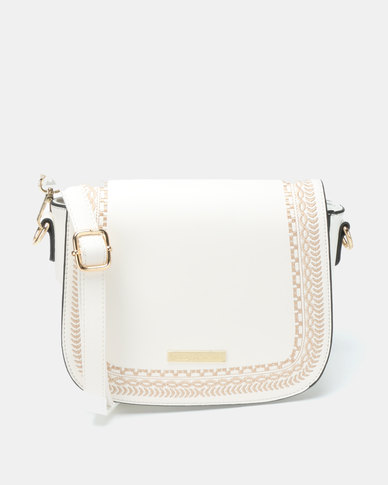 Blackcherry Bag Trendy Crossbody Bag White