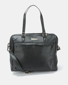 Blackcherry Bag Simple Laptop Bag Black