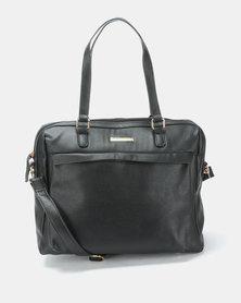 Blackcherry Bag Simple Laptop Bag Black