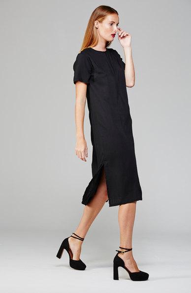 MARETH & COLLEEN Harper Shift Dress Black
