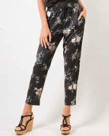 Marique Yssel Cropped Jogger - Night Meadow