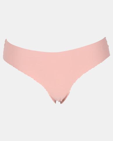 Legit Lace Bonded Brazilian Panty Blush