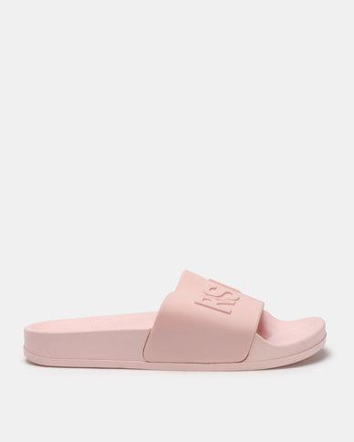 Legit Rise & Slay Mule Slides Pink
