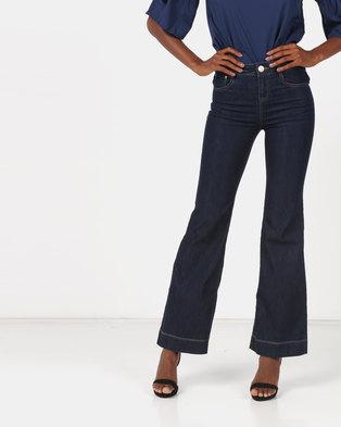 Utopia Flare Leg Jeans Indigo
