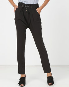Utopia Tapered Soft Pants Black