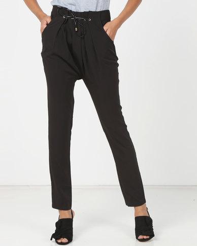 Utopia Tapered Soft Pants Black