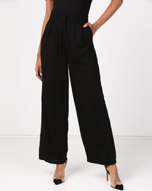 NA-KD Wide Pants Black