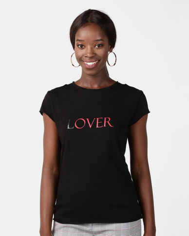 NA-KD Lover Tee Black
