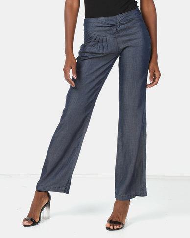 Vero Moda Areca Loose Jeans Indigo Blue