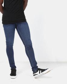 Lee Cooper M Marco Frank Skinny Jeans Indigo