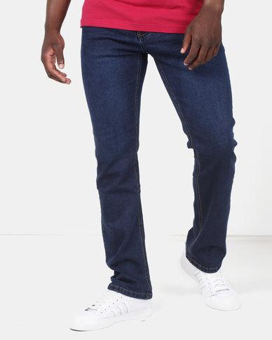 Lee Cooper M Cedric Harry Regular Straight Jeans Indigo