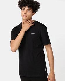 Lee Cooper M Blake Logo T-Shirt Black