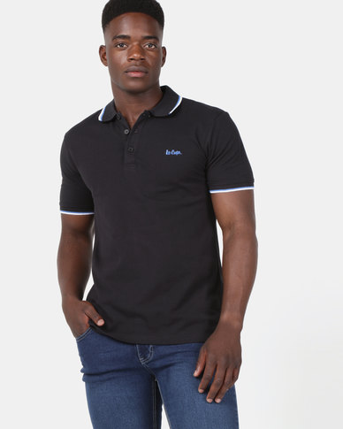 c0837418 Lee Cooper M Fierce Polo Black | Zando