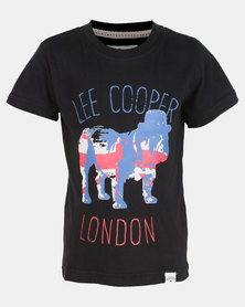 Lee Cooper  Michael Logo Tee Black