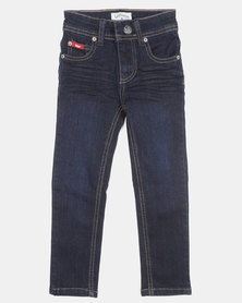 Lee Cooper Rory Skinny Denim Jeans Dark Indigo