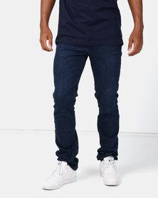 Lee Cooper M Seth Norris Slim Jeans Dark Indigo