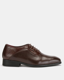 Anton Fabi Riano Boys Lace Ups Brown