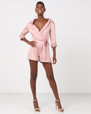 75c02f68a120 Sissy Boy Boity Bardot Shirt Playsuit Rose Smoke