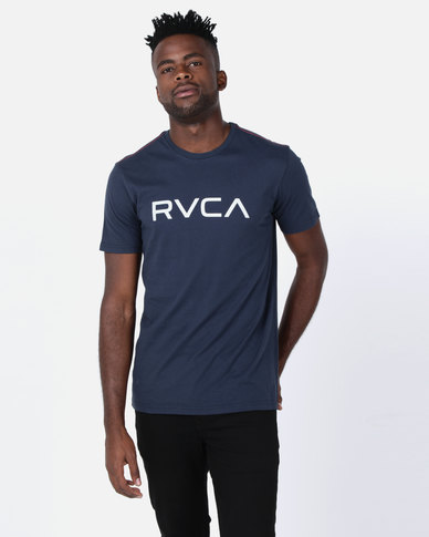 RVCA Big RVCA Short Sleeve Tee Midnight