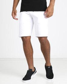 Soviet M Kenny Chino Shorts White