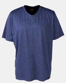Soviet M Longford Styled T-Shirt Navy