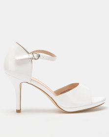 Franco Ceccato Closed Back Open Toe Sandals White