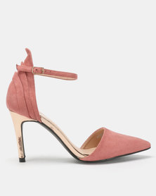 Franco Ceccato Open Waist Closed Back Heels Blush