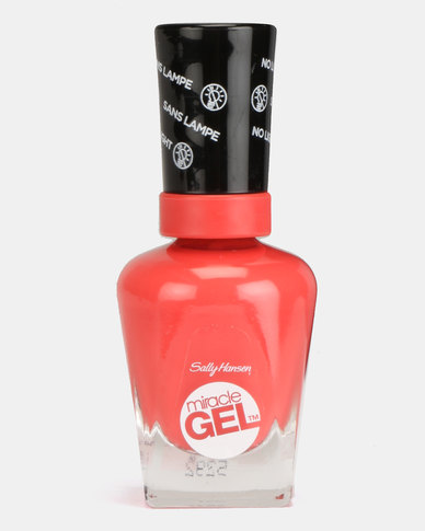 Sally Hansen Miracle Gel Nail Polish 409 World Wide Red