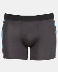 CR7 Athletic Microfibre Trunk Black