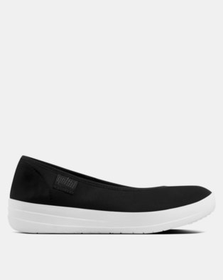 11946137d80 FitFlop Neoflex Ballerina Flats Black