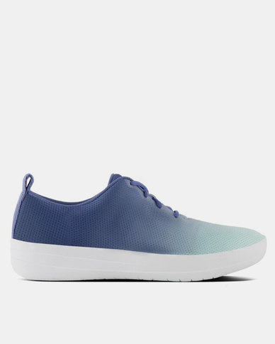FitFlop F-Sporty Mesh Sneakers Ombre Indian Blue/Turquoise