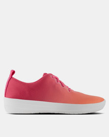FitFlop F-Sporty Mesh Sneakers Ombre Coral/Fuchsia