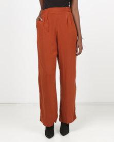 Legit Wideleg Pants Rust