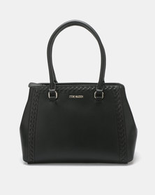 Steve Madden BBONITAT Satchel Bag Black