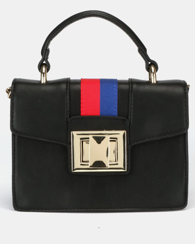 Steve Madden Bjada Satchel Bag Black Multi