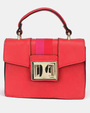 2bbba4a0ba38 Steve Madden Bjada Satchel Bag Red Multi