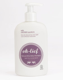 Oh-Lief Natural Products Olive Shampoo & Body Wash 200ml Silver
