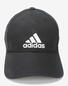 adidas Performance 6P Cotton Cap Black