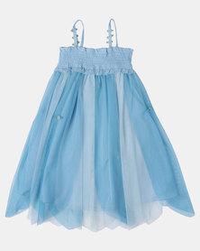 Fairy Shop Rainbow Rose Dress Blue