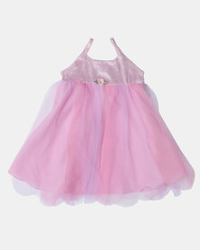 Fairy Shop Baby Soft Tulle Wings Dress Pink
