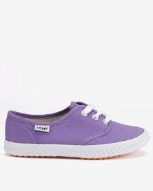 Tomy Takkies Original Lace Up Sneakers Purple