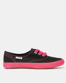 Tomy Takkies Original Sneakers Neon Black