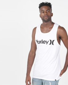 Hurley One & Only Tank White/Black