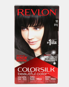 Revlon Colorsilk Permanent Hair Color Black 10