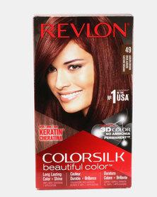 Revlon Colorsilk Permanent Hair Color Auburn Brown 49