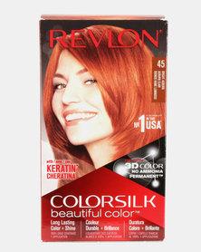 Revlon Colorsilk Permanent Hair Color Bright Auburn 45