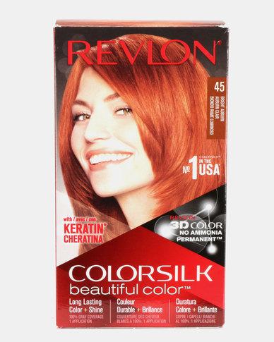 add0176991c Revlon Colorsilk Permanent Hair Color Bright Auburn 45