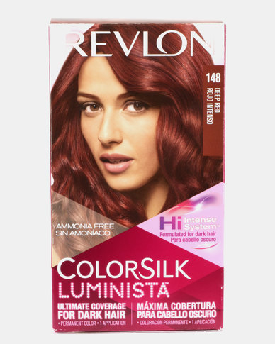 Revlon Colorsilk Luminista Hair Color Deep Red 48 Zando
