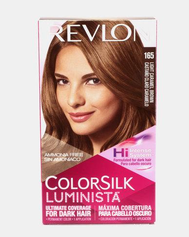 Revlon Colorsilk Luminista Hair Color Light Caramel Brown 65